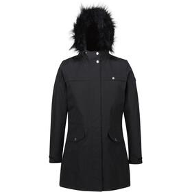 Regatta Serleena II Wodoodporna kurtka izolowana Kobiety, black